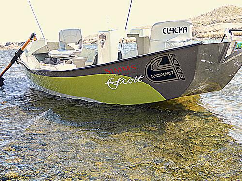 Mountain Driftboat Clackacraft Eddy